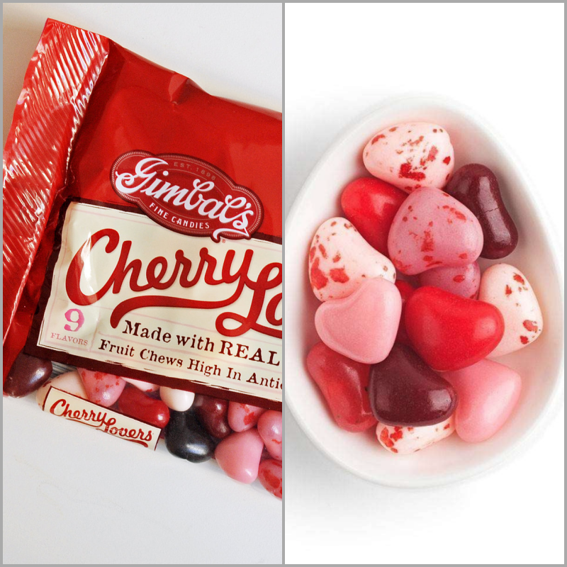Gimbal's cherry lovers at Sugarfina